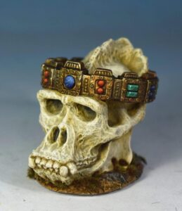 Crown of the First King painted by Andrew Taylor 1