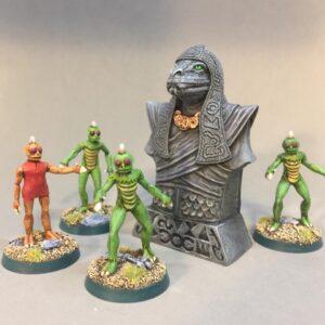 Doom Serpent Idol painted