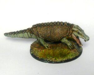 FOI 107 Set of four armored crocodiles