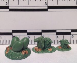FOI 202 Cycads and dinosaur nest with eggs sprue